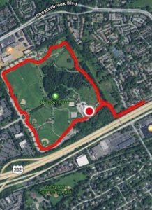 Falcon 5K Race Course